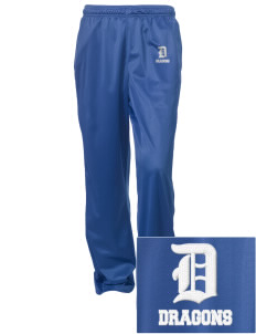 Brighton Elementary School Dragons Embroidered Women's Tricot Track Pants