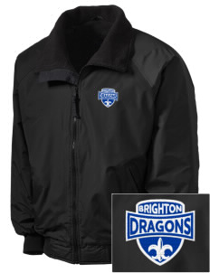 Brighton Elementary School Dragons Embroidered Tall Men's Challenger Jacket