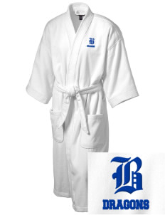 Brighton Elementary School Dragons Embroidered Terry Velour Robe