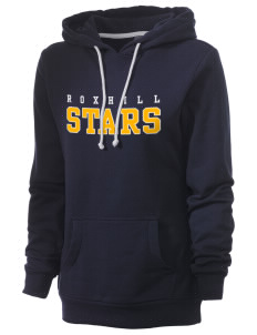 Roxhill Elementary School Stars Women's Core Fleece Hooded Sweatshirt