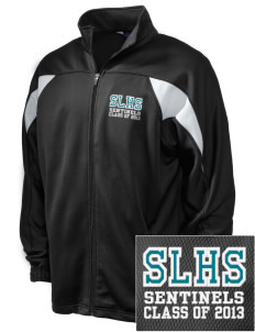 Spanaway Lake High School Sentinels Embroidered Holloway Men's Full-Zip Track Jacket