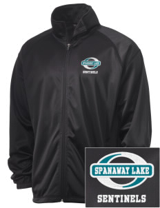 Spanaway Lake High School Sentinels Embroidered Men's Tricot Track Jacket