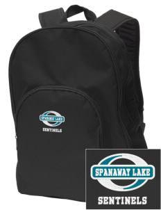 Spanaway Lake High School Sentinels Embroidered Value Backpack