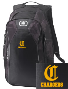 Saint Peter School Chargers Embroidered OGIO Marshall Backpack