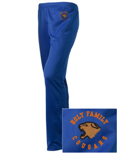 Holy Family School Cougars Embroidered Holloway Women's Contact Warmup Pants