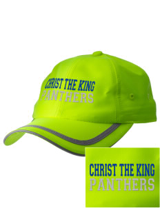 Christ The King School Panthers  Embroidered Safety Cap