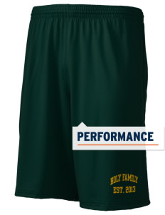 "Holy Family School Falcons Holloway Men's Performance Shorts, 9"" Inseam"
