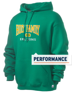 Holy Family School Falcons Russell Men's Dri-Power Hooded Sweatshirt