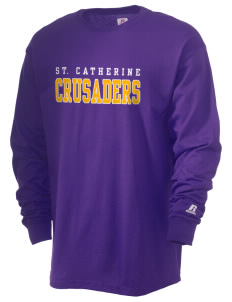 Saint Catherine School Crusaders  Russell Men's Long Sleeve T-Shirt