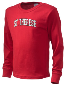 Saint Therese School All Stars  Kid's Long Sleeve T-Shirt