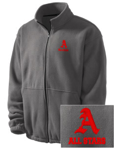 Saint Therese School All Stars Embroidered Men's Fleece Jacket