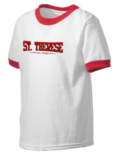 Saint Therese School All Stars Kid's Ringer T-Shirt