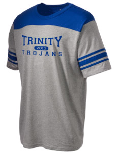 Trinity Catholic School Trojans Holloway Men's Champ T-Shirt