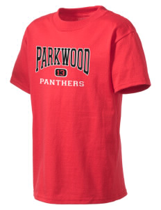 Parkwood Elementary School Panthers Kid's Lightweight T-Shirt