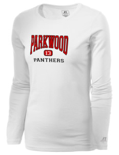 Parkwood Elementary School Panthers  Russell Women's Long Sleeve Campus T-Shirt