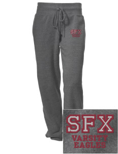 Saint Francis Xavier School Eagles Embroidered Alternative Women's Unisex 6.4 oz. Costanza Gym Pant