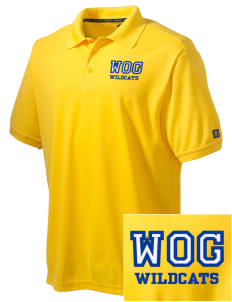 Word Of God School Wildcats Embroidered OGIO Men's Caliber Polo