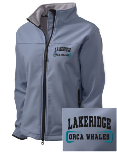 Lakeridge Elementary School Orca Whales Embroidered Women's Glacier Soft Shell Jacket