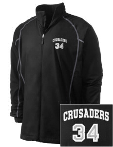 Saint Rose Of Lima School Crusaders Embroidered Men's Nike Golf Full Zip Wind Jacket