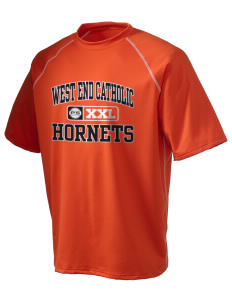 West End Catholic School Hornets Holloway Men's Vapor Performance T-Shirt