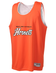 West End Catholic School Hornets Holloway Men's Halfcourt Reversible Basketball Jersey