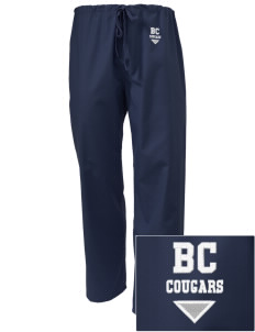 Bois Central Catholic Elementary Cougars Embroidered Scrub Pants