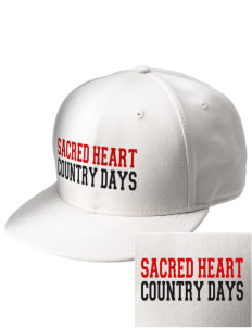 Sacred Heart Country Day School Country Days  Embroidered New Era Flat Bill Snapback Cap