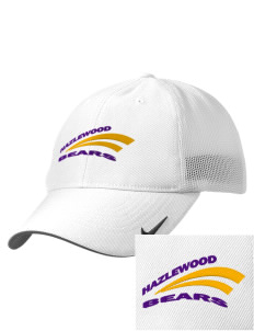 Hazlewood Elementary School Bears Embroidered Nike Golf Mesh Back Cap