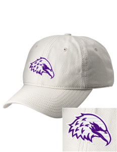 Elkhart Christian Academy Eagles  Embroidered New Era Adjustable Unstructured Cap