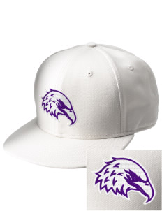 Elkhart Christian Academy Eagles  Embroidered New Era Flat Bill Snapback Cap