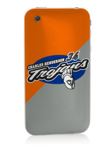 Charles Henderson Middle School Trojans Apple iPhone 3G/ 3GS Skin