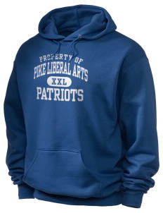 Pike Liberal Arts School Patriots Holloway Men's 50/50 Hooded Sweatshirt