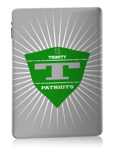 Trinity School Patriots Apple iPad Skin