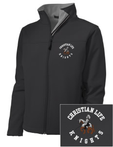 Christian Life School Knights Embroidered Women's Soft Shell Jacket