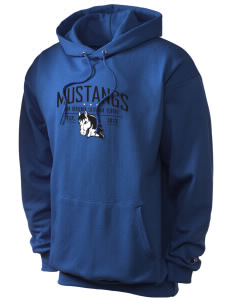 Our Redeemer Lutheran School Mustangs Champion Men's Hooded Sweatshirt