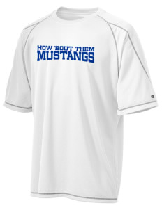 Our Redeemer Lutheran School Mustangs Champion Men's 4.1 oz Double Dry Odor Resistance T-Shirt