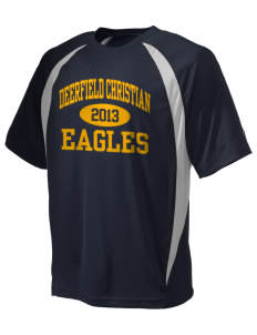 Deerfield Christian Academy Eagles Champion Men's Double Dry Elevation T-Shirt