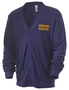Victory Baptist Academy Eagles Men's 5.6 oz Triblend Cardigan