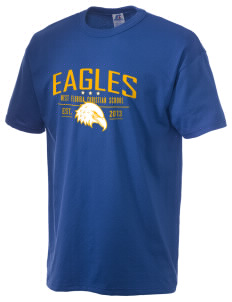 West Florida Christian School Eagles  Russell Men's NuBlend T-Shirt