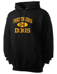 Princeton Junior School Dogs Men's 7.8 oz Lightweight Hooded Sweatshirt