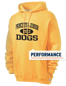 Princeton Junior School Dogs Russell Men's Dri-Power Hooded Sweatshirt