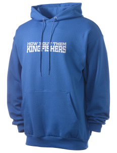 Pleasant Valley Christian Academy Kingfishers Men's 7.8 oz Lightweight Hooded Sweatshirt