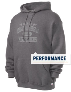 Pleasant Valley Christian Academy Kingfishers Russell Men's Dri-Power Hooded Sweatshirt