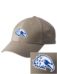 The King's Christian Academy Eagles  Embroidered New Era Adjustable Structured Cap