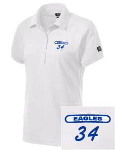 The King's Christian Academy Eagles Embroidered OGIO Women's Jewel Polo