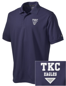 The King's Christian Academy Eagles Embroidered OGIO Men's Caliber Polo