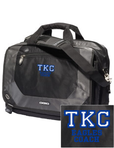 The King's Christian Academy Eagles Embroidered OGIO Corporate City Corp Messenger Bag