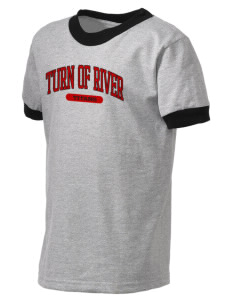 Turn Of River Middle School Titans Kid's Ringer T-Shirt