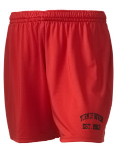 "Turn Of River Middle School Titans Holloway Women's Performance Shorts, 5"" Inseam"