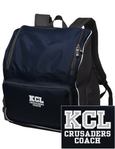 Kaimuki Christian Lower School Crusaders Embroidered Holloway Duffel Bag